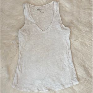 Express One-Eleven V-Neck Tank Top